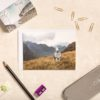 Stare Down With A Herdwick Sheep On Pike O' Blisco | Lake District Greeting Card