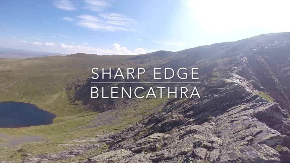 Blencathra Via Sharp Edge. I Got Scared Landscape Photography Vlog