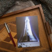 Ulverston Greeting Card Hoad Monument As The Snow Falls