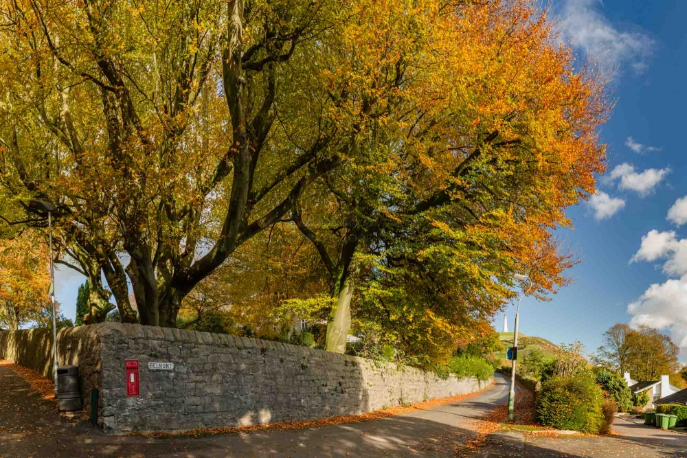 Autumn On Belmont. Ulverston
