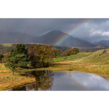 Rainbow Over Kelly Hall Tarn The Lake District 1