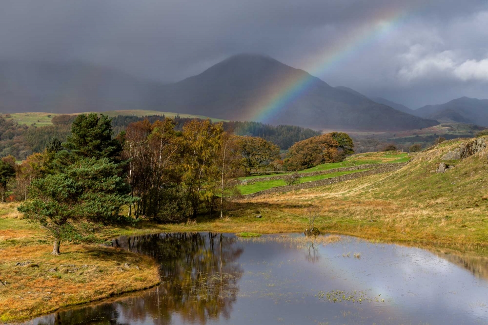 Rainbow Over Kelly Hall Tarn, The Lake District