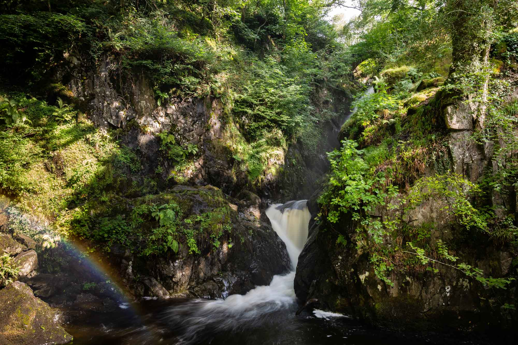 Rainbows And Waterfalls Aira Force