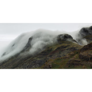 Great Langdale In The Clouds. The Lake District