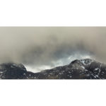 Scafell Pike Being Swallowed By The Clouds