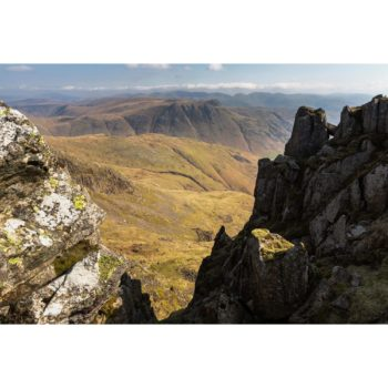 The Langdale Pikes From Crinkle Crags. The Lake District.jpg