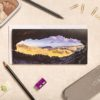 The Priest Hole Cave | Lake District Greeting Card