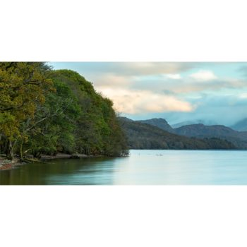Early Morning Light On Coniston Water. The Lake District Loose Print