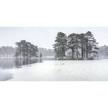 The Islands In The Snow. High Dam Loose Print