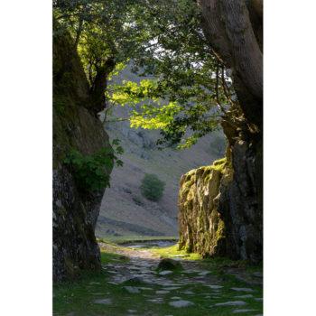 Walking through The Shadows. The Lake District Loose Print