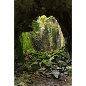Archways In The Old Slate Mines. The Lake District Loose Print