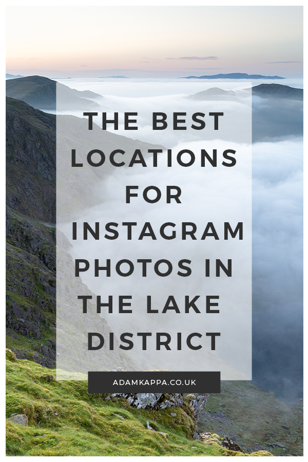The Best Locations For Instagram Lake District