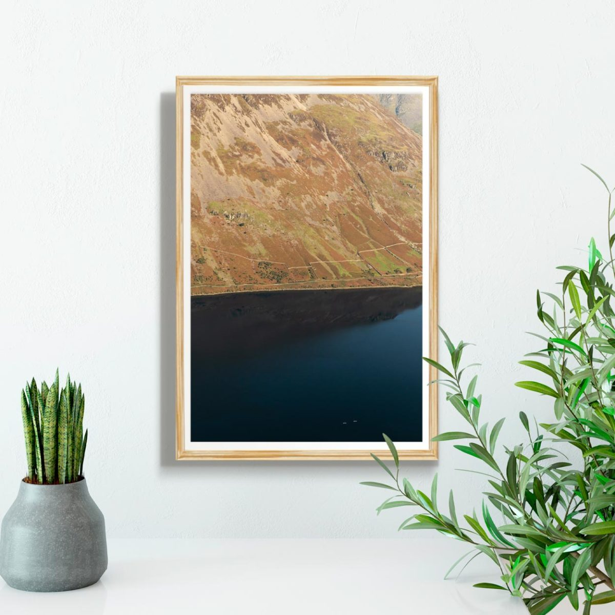 Paddle Boarding On Wastwater Print1